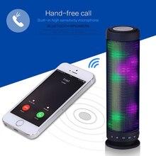 New High Quality Portable Speaker Recharging Wireless Sound LED Bluetooth Speaker OD#S
