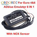 10pcs/Lot Adblue 8 in 1 Adblue Emulation 8in1 With NOX Sensor Adblue Emulator 8 in 1 Adblue 8in1 For Multi Trucks Free Ship