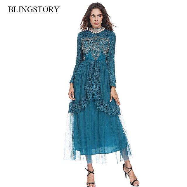 e5cdad4eb Moda de lujo boda musulmana Kaftan marroquí encaje seda oriente medio  diamante del bordado islámica vestido fiesta KKD1207