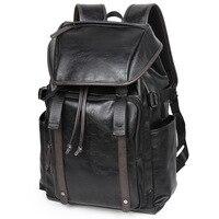 Amasie Luxury Style Fashion Leather Men large capacity backpacks leather men backpack men backpack laptop EGT0128