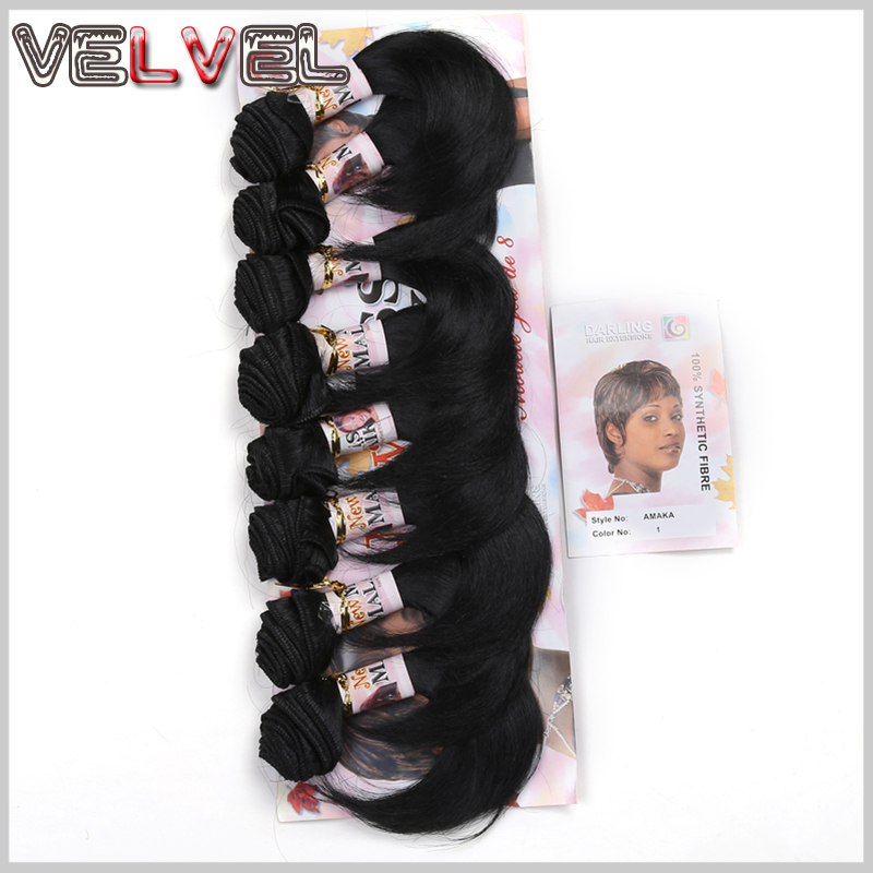 New 6inch short hair pieces 8pcsset synthetic weave hair darling new 6inch short hair pieces 8pcsset synthetic weave hair darling amaka synthetic hair extensions wavy hairpiece velvel on aliexpress alibaba group pmusecretfo Choice Image