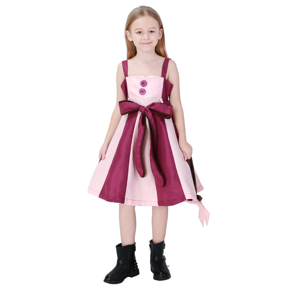 Deluxe Cheshire Cat Costume For Kids Girls Animal Costume Alice In