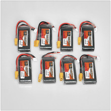Original zop Lipo LiPo Battery 11.1V 1500Mah 3S 40C Max 60C XT60 Plug For RC Quadcopter Drone Helicopter Car Airplane 8pcs