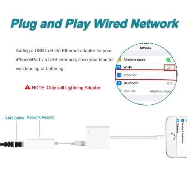 Для разъема Lightning-USB 3 Камера ридер OTG адаптер подключения Наборы кабель для синхронизации данных и зарядки для iPhone X/XR/XS/xsmax/8/8 Plus/7/7plus/iPad/