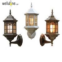 Classic Classical Waterproof Antique Outdoor Wall Light 220V 230V 240V 110V 120V Vintage Outdoor Wall Lamp