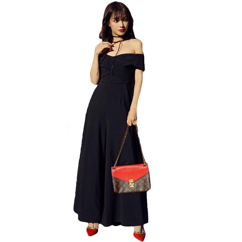 Новый корейский вариант, чистый цвет, мозаика, моды, отточить, тонкий, прямой, плечо, прямая трубка, и тело брюки.
