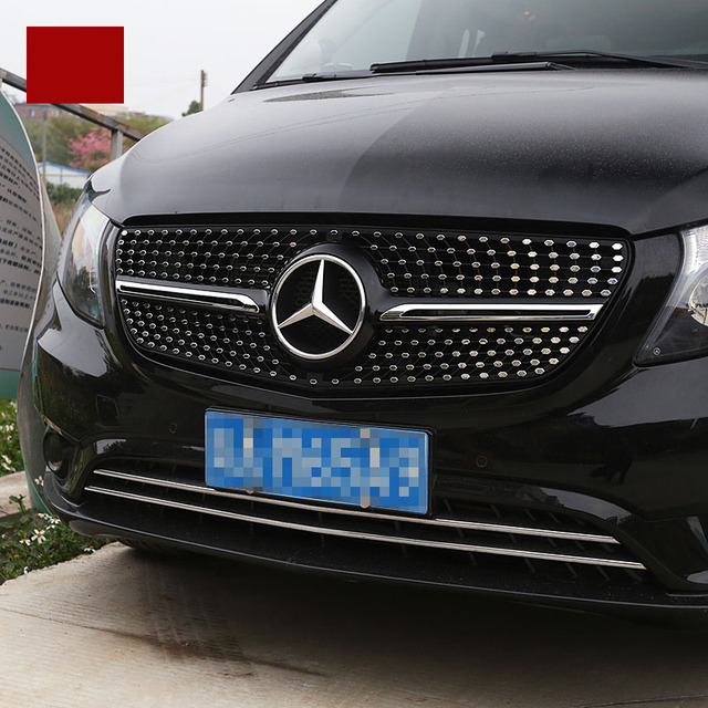 Lsrtw2017 Abs Car Front Grill Net For Mercedes Benz Vito 2014 2015