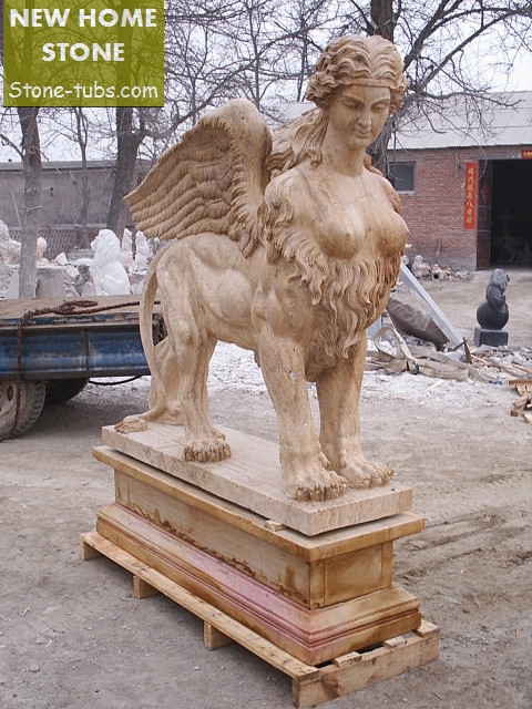 Sphinx information sculptures Modern Designer Marble Sphinx ...
