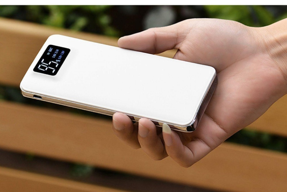 <font><b>15000mah</b></font> External Battery Poverbank Pack USB <font><b>Power</b></font> <font><b>Bank</b></font> LED Portable Mobile Phone Charger Powerbank For <font><b>Xiaomi</b></font> MI iPhone X Note image