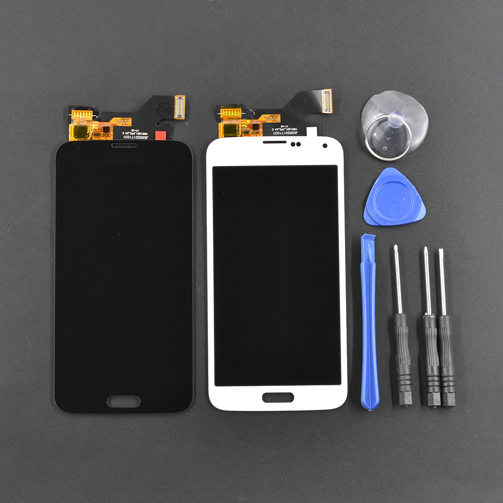 New LCD Display Touch Screen Digitizer Assembly For Samsung Galaxy S5 i9600 G900New LCD Display Touch Screen Digitizer Assembly For Samsung Galaxy S5 i9600 G900