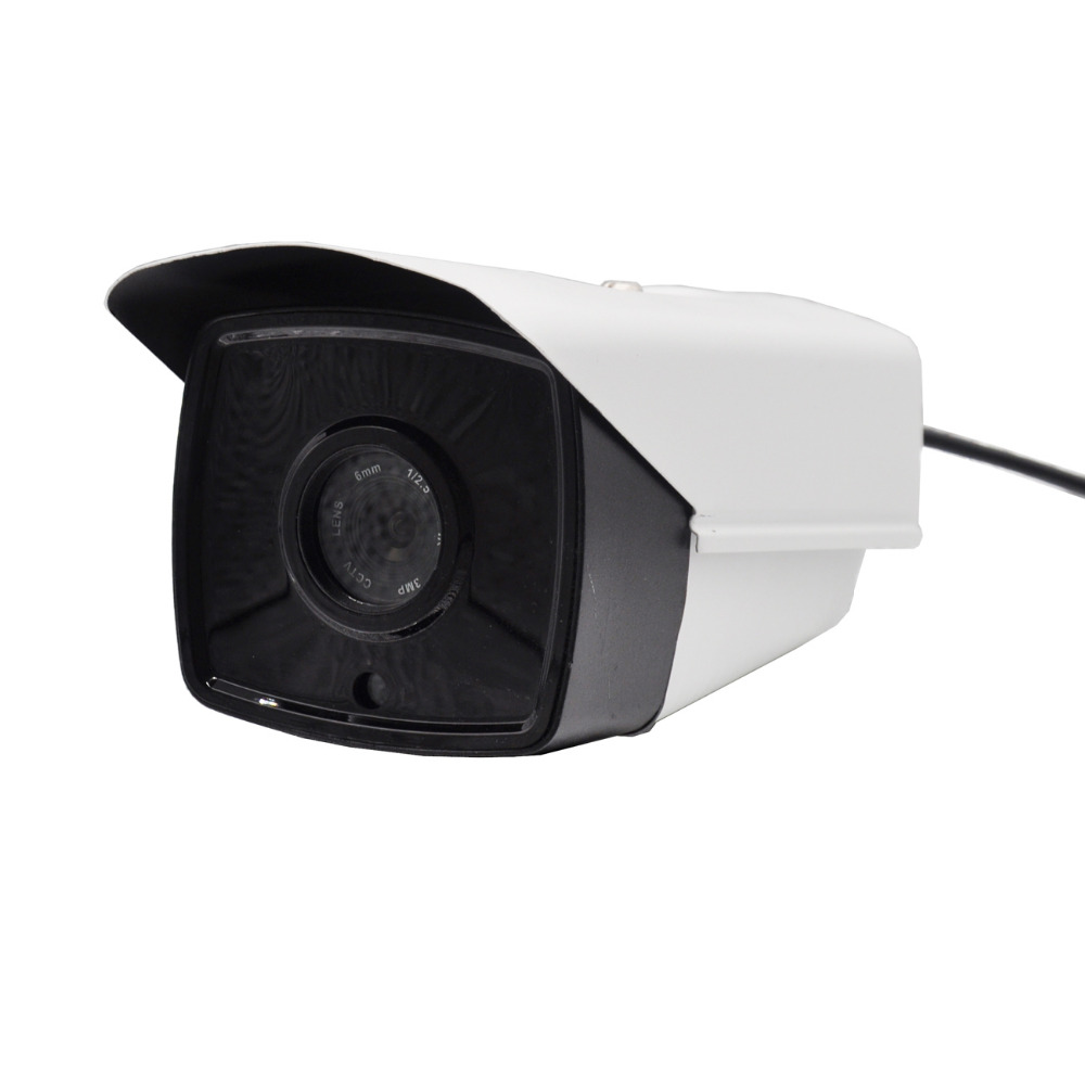 Infrared Network 16mm Security Surveillance H.264 PAL NTSC Indoor Home IP Camera 1080P CCTV Camera Outdoor Waterproof Camera pal ntsc ccd 16mm ip camera 960p infrared network security surveillance outdoor waterproof cctv camera indoor bullet cameras