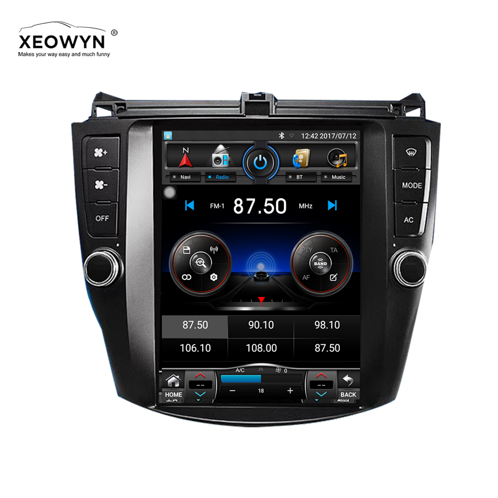 Android 6.0 1024*600 Quad core 10.1 autoradio GPS Navigation pour HONDA Accord 7 2003-2007