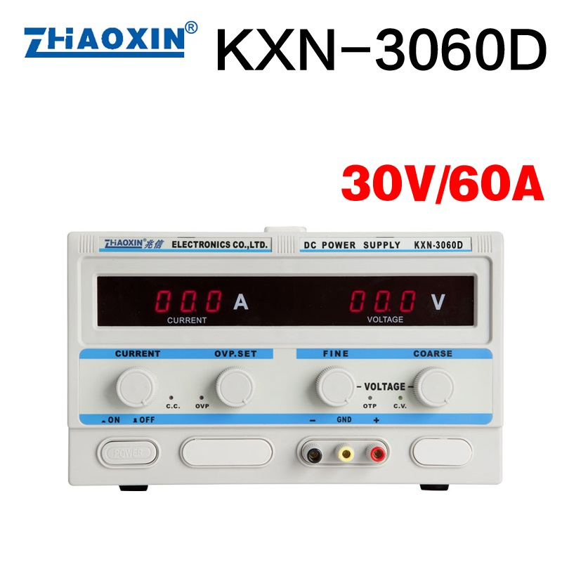 KXN-3060D 1.8KW Big Power 30V 60A LED Adjustable DC Power Supply High power Switch dc regulated power supply kxn 3020d dc power supply 30v20a adjustable power supply 30v 20a led high power switching variable dc power supply 220v page 6 page 1
