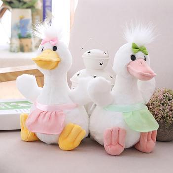Encantador 8 pulgadas de peluche de pato de peluche abrazos muñeca de juguete almohada