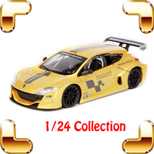 New Year Gift Renault 1/24 Model Metal Car Sports Racing Collection Vehicle Alloy Model Scale Fans Present Toy Boys Decoration