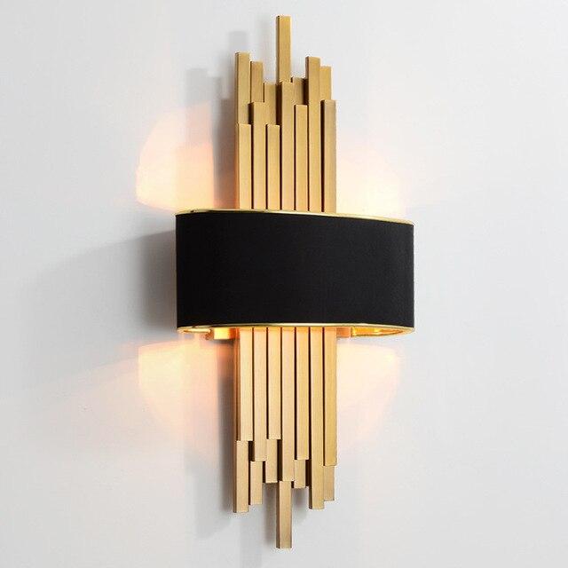 À vendre Applique murale moderne LED salon miroir lumière ...