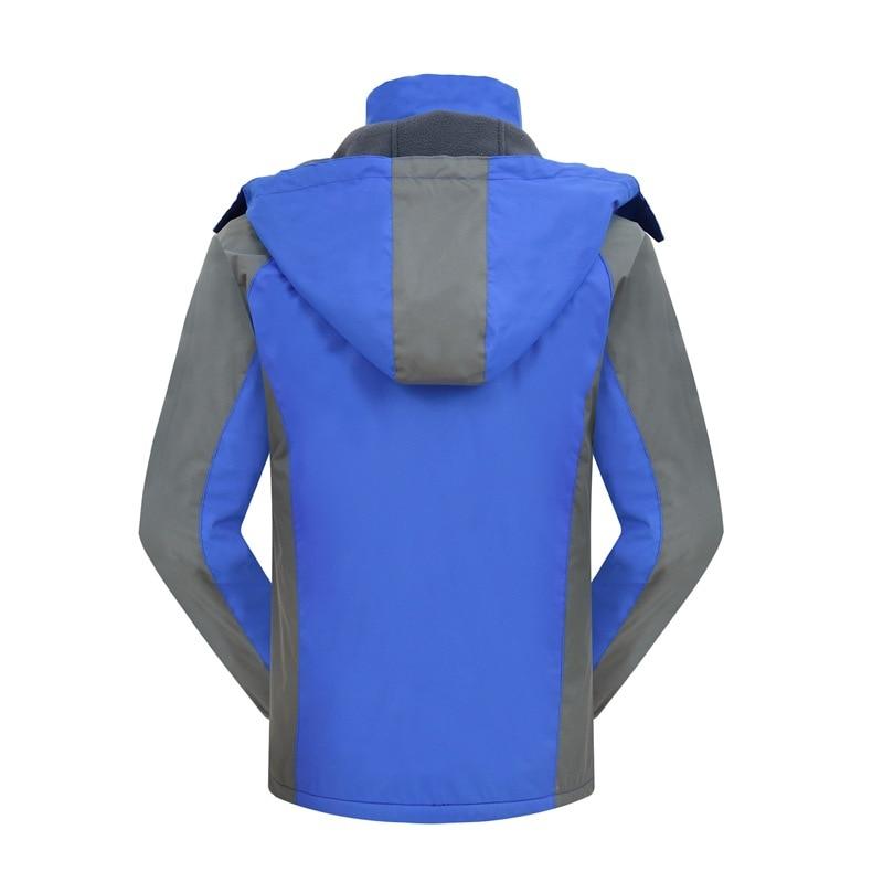 Jaqueta de esqui dos homens jaqueta de