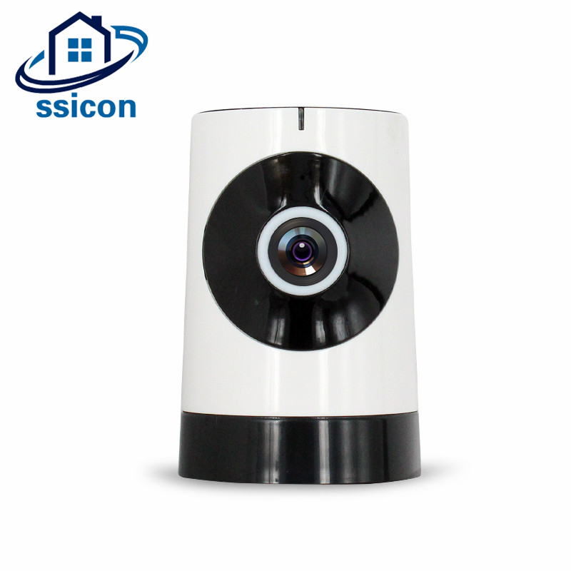 SSICON 180 Degree IP Camera Wireless Support 128G TF Card Mini Surveillance Security Camera Wifi 720P Home Security Camera