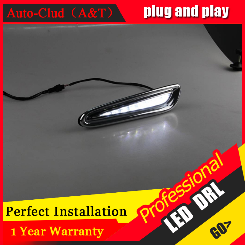 Auto Clud car styling For Mazda 3 LED DRL For 3 High brightness guide LED DRL led fog lamps daytime running light F style