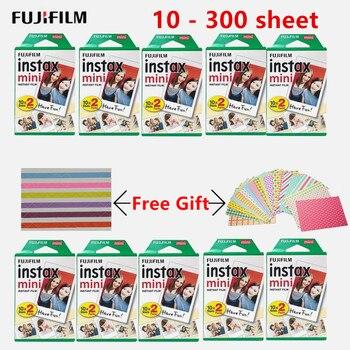 10-300 blätter Fujifilm Instax kamera Weiß Mini Film Instant Foto Papier Für Instax Mini 8 9 7s 9 70 25 50s 90 SP-1 2 Kamera