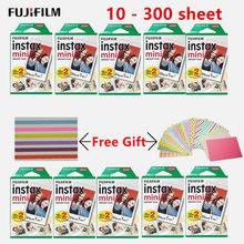 10 - 300 sheets Fujifilm Instax camera White Mini Film Instant Photo Paper For Instax Mini 8 9 7s 9 70 25 50s 90 SP-1 2 Camera(China)