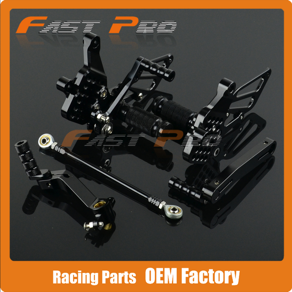 CNC Motorcycle Adjustable Billet Foot Pegs Pedals Rest For DUCATI 999 2pcs bicycle plastic wheel pedals axle foot pegs