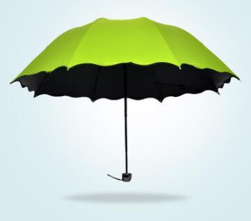 1 Pz Maschio Femmina Umbrella Tre Pieghevole Pioggia Travele Leggera Di Alluminio 5 Colori Per Selezionare Uomini Delle Donne Di Alta Qualità A Buon Mercato Ombrelli Non-Stireria