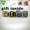 Drop shipping sports jewelry  1986/1990/2007/2011 New York Giants Championship Ring Replica Super Bowl 4 Year Sets Met Houten