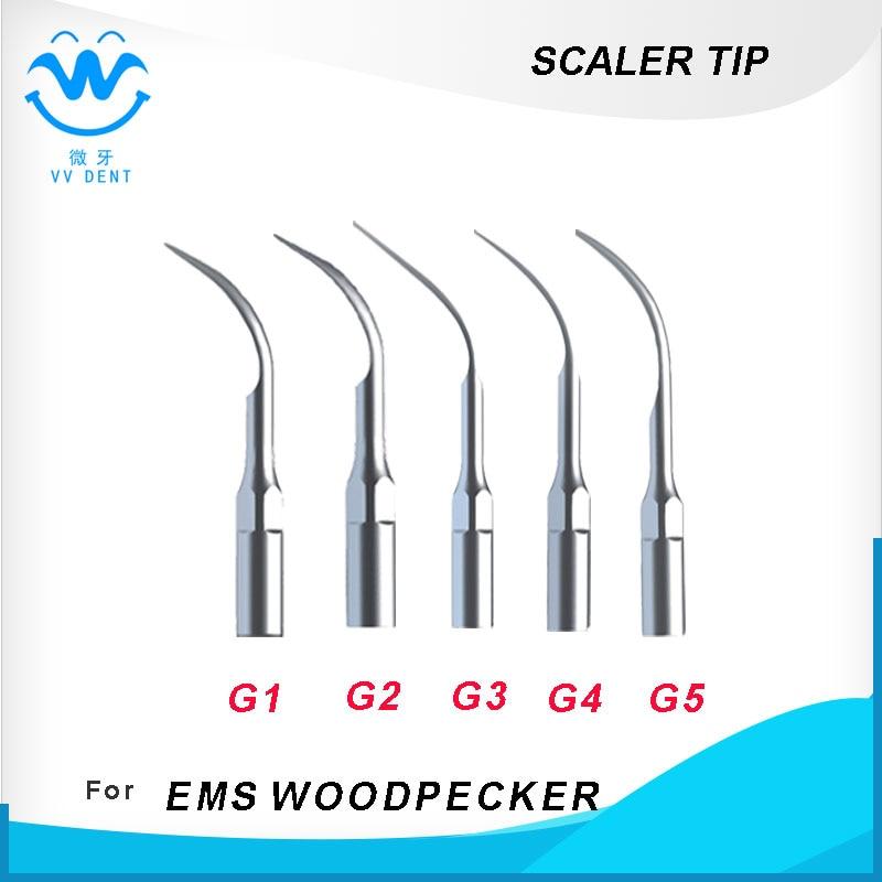 10пцс Дентал супрагингивал сцалинг тип За ВООДПЕЦКЕР ЕМС скалер за избјељивање зуба Стоматолошка опрема