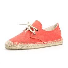ผู้หญิงคลาสสิกแบนรองเท้าผ้าใบ up lace รองเท้าสำหรับฤดูใบไม้ผลิฤดูร้อน