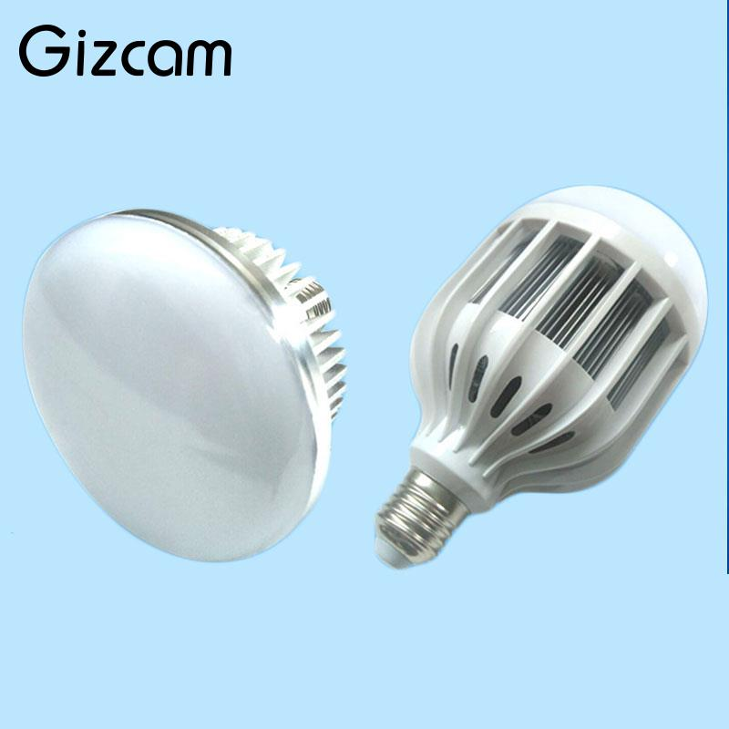 Gizcam Base E27 Fotografia Photo Studio Luz Bulb 65 W 5500 K CONDUZIU a Lâmpada De Iluminação Contínua de Vídeo AC 220-240 V Luz Branca