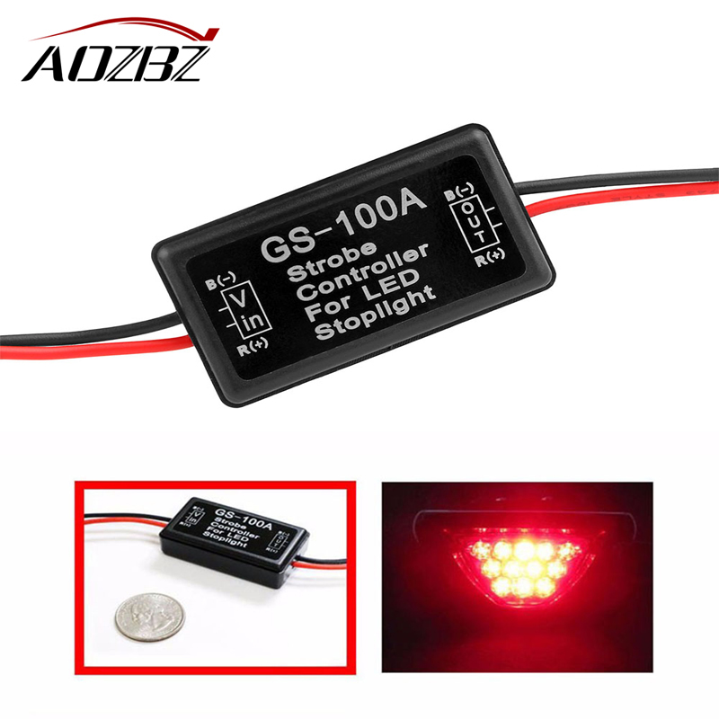 AOZBZ 1pcs Daytime Running Lights New DRL Controller Auto Car LED Relay Harness Dimmer On/Off 12--24V Fog Light Controller