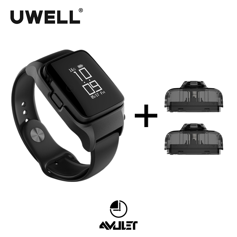 In Stock UWELL Amulet Pod System and 1 Pack 2 pcs 2ml capacity Refillable Pod E