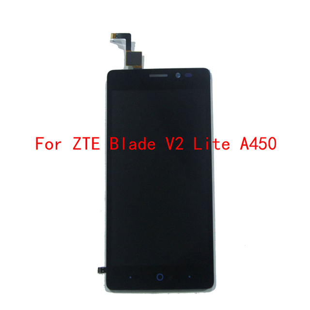100% Tested Original   For ZTE Blade V2 Lite A450 LCD Display+Touch Screen Assembly Digitizer Free shipping