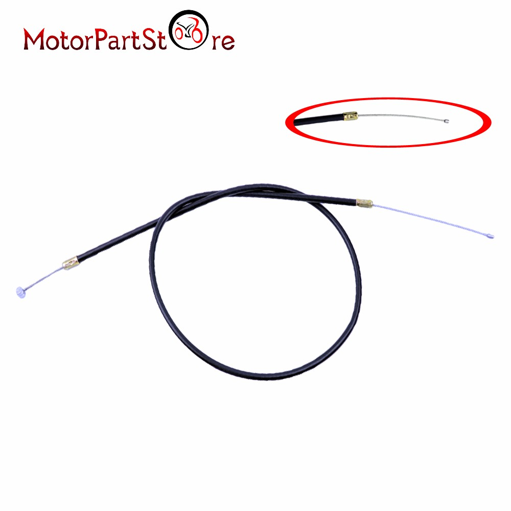 32 5 u0026quot  throttle cable for x7 2 stroke pocket bike 49cc 2