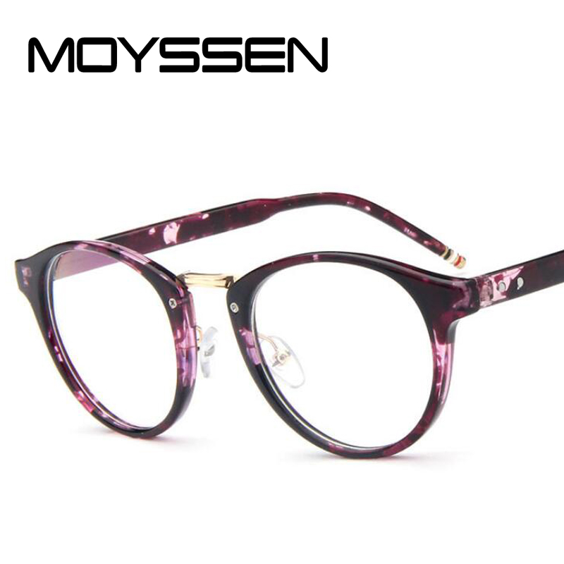 a1560be2859a MOYSSEN Classic Brand Design Optical Glasses Frame Men women Vintage Round  Eyeglasses Prescription Eyewear-in Eyewear Frames from Apparel Accessories  on ...