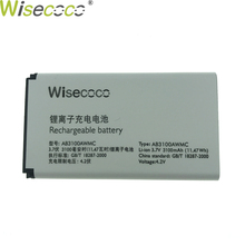 цена на WISECOCO 100% Original AB3100AWMT AB3100AWMC Battery For PHILIPS Xenium X1560 X5500 CTX5500 CTX1560 Mobile phone + Tracking code