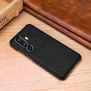 Image 5 - Funda de cuero auténtico Retro de piel de vaca para Huawei P30 P20 Pro P10 Plus funda trasera ultrafina para Huawei P30 Pro