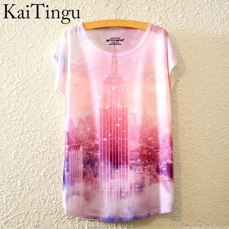 HTB1W00HLpXXXXb.XVXXq6xXFXXXx - New Fashion Summer Animal Cat Print Shirt O-Neck Short Sleeve T Shirt