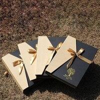 Paquete de la Caja de regalo Álbum de Fotos de BRICOLAJE Álbumes Del Libro de Recuerdos De Viaje De Bodas Partido Familia Fotos Fotos Récord Perfecto Regalo de Cumpleaños