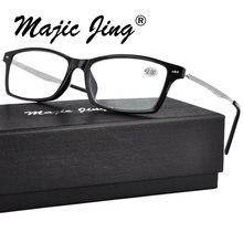Magic Jing TR сверхлегкие очки для чтения с добавлением:+ 100~+ 400 6803