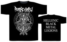 Rotting Christ Hellenic Black Metal Legions T-Shirt - NEW & OFFICIAL Men Cotton Printed  T Shirt top tee