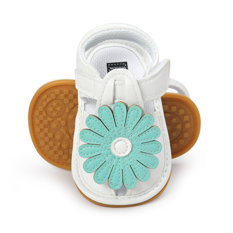 Summer Cute Sweet Kids Girls Sandals Cute Tartan Hollow Out Princess Style Flower Breathable Non-slip Soft Bottom Cack Shoes