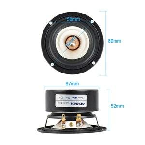 Image 2 - Aiyima 2 個 3 インチミニオーディオポータブルスピーカー 4Ohm 8Ohm 15 ワットフルレンジハイファイ低音スピーカー altavoz portatil スピーカー diy