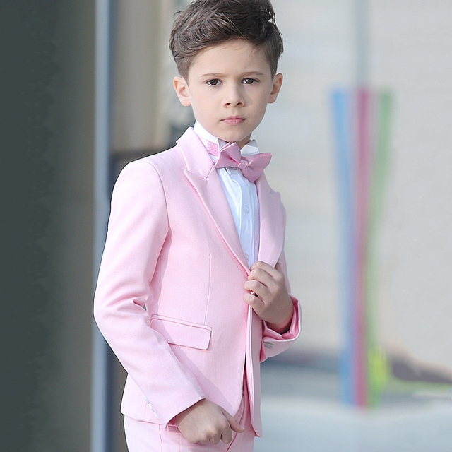 Brand New 2017 Cute Child Boy Suits Blazer With Pant kids Wedding ...