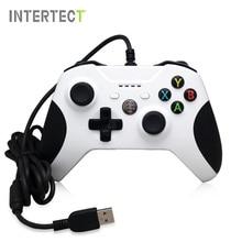 USB Проводной Контроллер Для Xbox One Slim Video Game Джойстик Mando для Microsoft Xbox One S Геймпад Controle Джойстика Для ПК с Windows