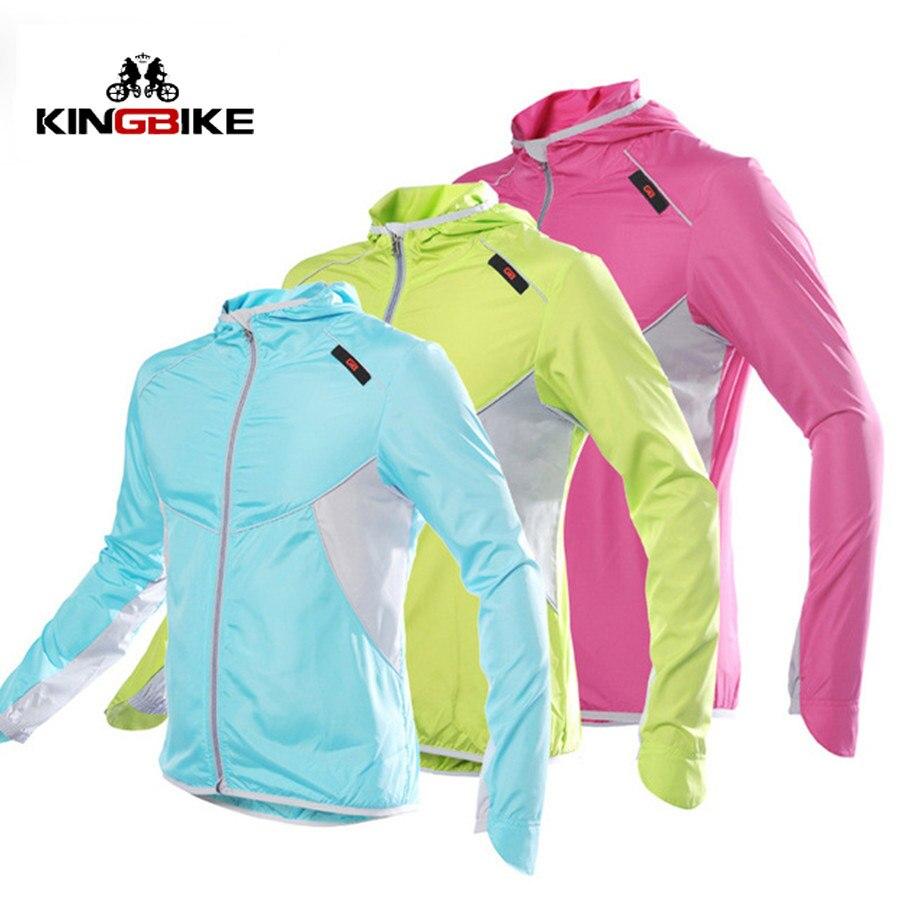 Jackets Cycling-Jersey Windbreak Long-Sleeve Outdoor Sports Women Hiking Running Lovers