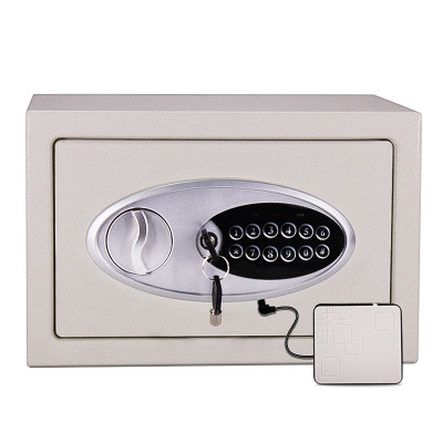 31x20x20cm Family Office Steel Wall Small Mini Single Door Home Electronic Lock Strongarmer Safe Deposit Box Anti theft Case