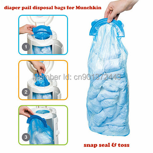 Baby Diper Pail Refill Bags Disposal Special Used For Munchkin Arm Hammer Diaper In Grooming Healthcare Kits From Mother Kids On