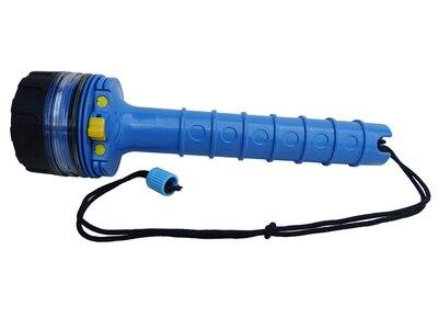 Lampe de poche LED plongée 100 mètres plongée en profondeur lampe de poche étanche